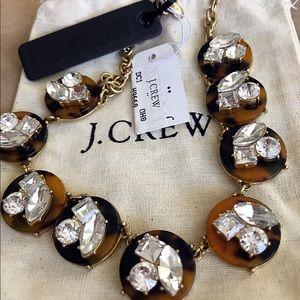 NWT J.Crew Tortoise Necklace